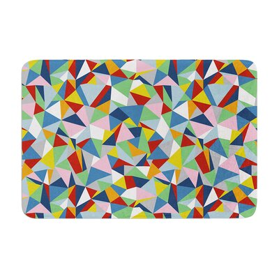 Project M Abstraction Abstract Memory Foam Bath Rug