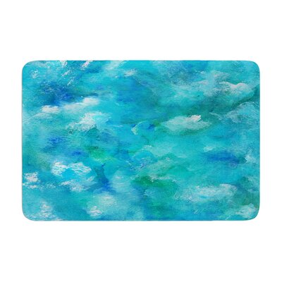 Rosie Ocean Waters Memory Foam Bath Rug