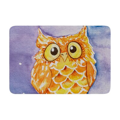 Padgett Mason Little Hoot Memory Foam Bath Rug