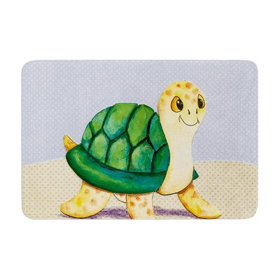 Padgett Mason Slow and Steady Memory Foam Bath Rug