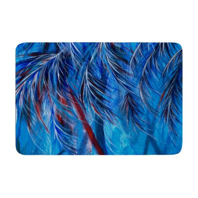 Rosie Tropical Memory Foam Bath Rug