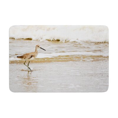 Robin Dickinson Counting the Waves Memory Foam Bath Rug