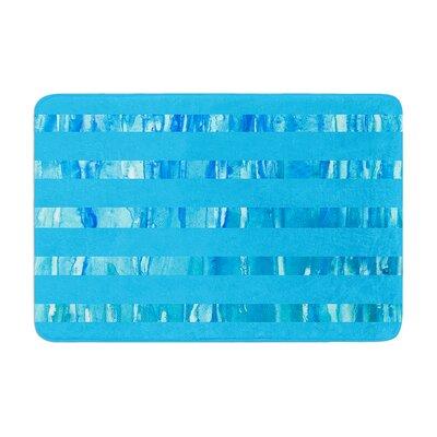 Rosie Wet Wild Stripes Memory Foam Bath Rug