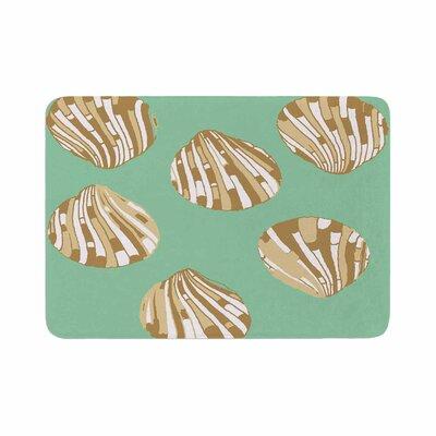 Rosie Scallop Shells Memory Foam Bath Rug
