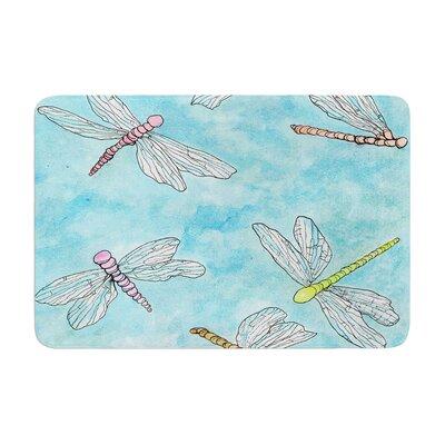 Rosie Dragonfly Memory Foam Bath Rug