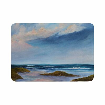 Rosie Summer Showers Beach Memory Foam Bath Rug