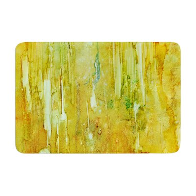 Rosie Rock City Painting Memory Foam Bath Rug