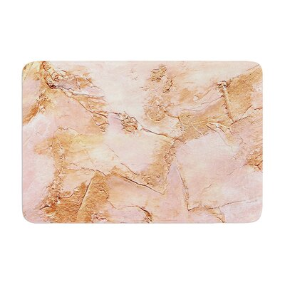Rosie Bronze It Paint Memory Foam Bath Rug