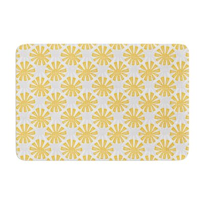 Apple Kaur Designs Sunburst Memory Foam Bath Rug