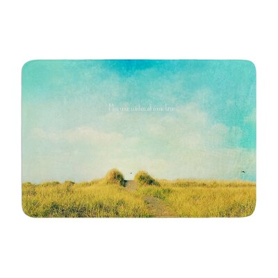Robin Dickinson May Your Wishes Memory Foam Bath Rug
