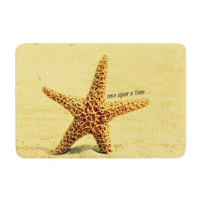 Robin Dickinson Once upon a Time Starfish Memory Foam Bath Rug
