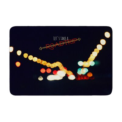 Robin Dickinson Road Trip Memory Foam Bath Rug