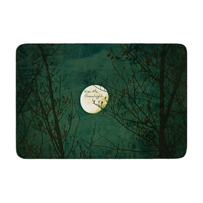 Robin Dickinson Kiss Me Goodnight Memory Foam Bath Rug