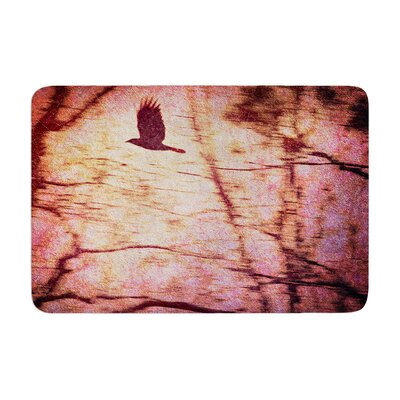 Robin Dickinson Midnight Dreary Tree Memory Foam Bath Rug