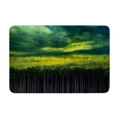 Robin Dickinson I Like This Place Memory Foam Bath Rug