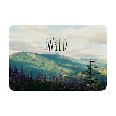 Robin Dickinson Keep it Wild Memory Foam Bath Rug