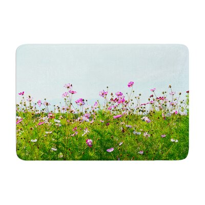 Robin Dickinson I Choose Magic Flowers Memory Foam Bath Rug