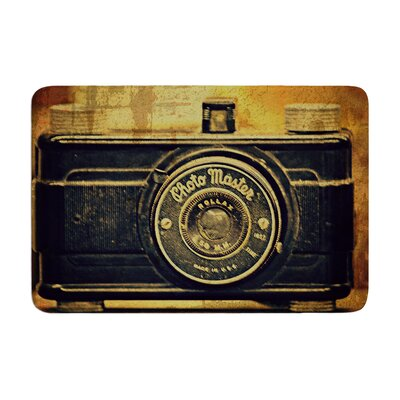 Robin Dickinson Discarded Treasure Vintage Camera Memory Foam Bath Rug