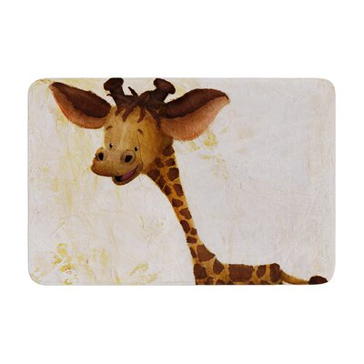 Rachel Kokko Georgey the Giraffe Memory Foam Bath Rug