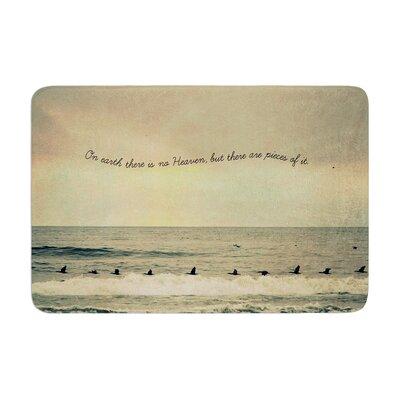Robin Dickinson Pieces of Heaven Beach Memory Foam Bath Rug