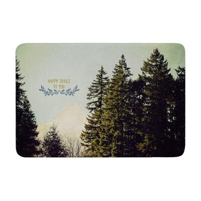 Robin Dickinson Happy Trails Memory Foam Bath Rug