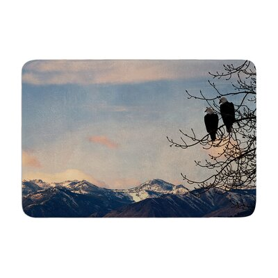 Robin Dickinson Majesty Landscape Memory Foam Bath Rug