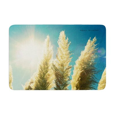 Robin Dickinson Ornamental Grass Memory Foam Bath Rug