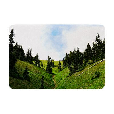 Robin Dickinson Going to the Mountains Memory Foam Bath Rug