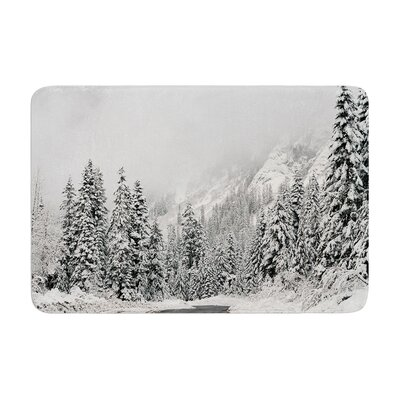 Robin Dickinson Winter Wonderland Memory Foam Bath Rug