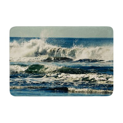 Robin Dickinson Forever Young Coastal Memory Foam Bath Rug
