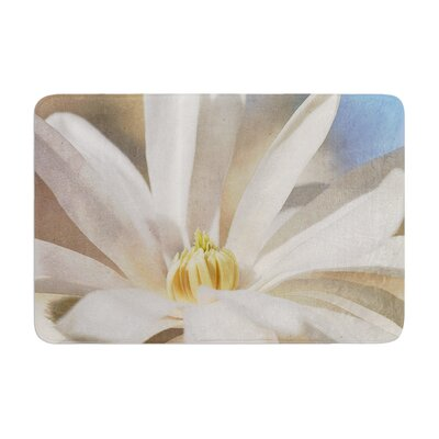 Robin Dickinson First Signs Floral Memory Foam Bath Rug