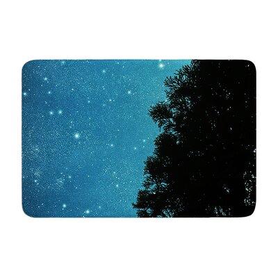 Robin Dickinson Star Light Celestial Forest Memory Foam Bath Rug