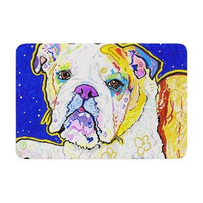 Rebecca Fischer Mavis Bull Dog Memory Foam Bath Rug