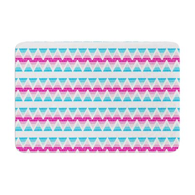 Apple Kaur Designs Swimming Pool Tiles Memory Foam Bath Rug