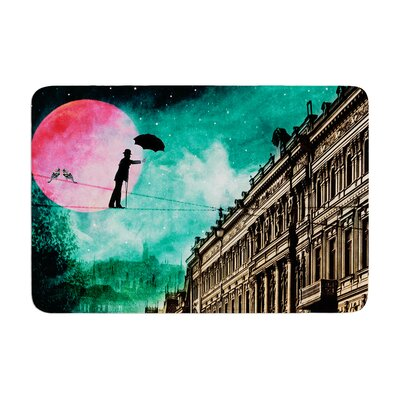 Suzanne Carter Moonlight Stroll Surreal Memory Foam Bath Rug