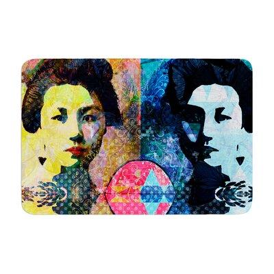 Suzanne Carter Kimono Girl Memory Foam Bath Rug