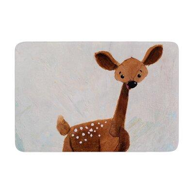 Rachel Kokko Oh Deer Memory Foam Bath Rug