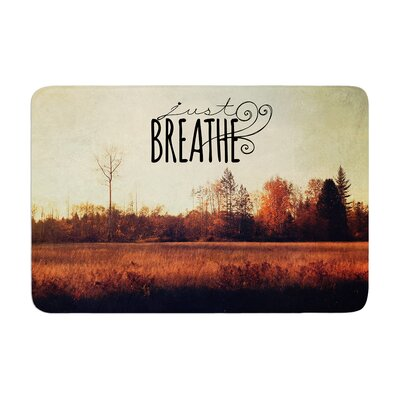 Sylvia Cook Just Breathe Memory Foam Bath Rug