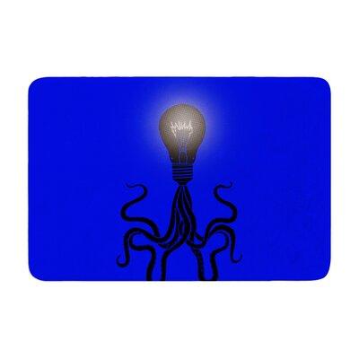 BarmalisiRTB Octopus Bulb Tentacles Memory Foam Bath Rug