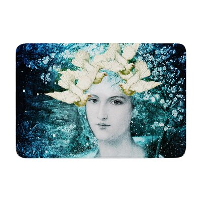 Suzanne Carter Adorned Memory Foam Bath Rug