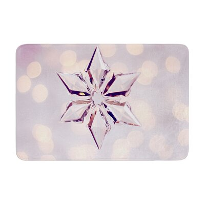 Sylvia Cook Starbright Holiday Memory Foam Bath Rug