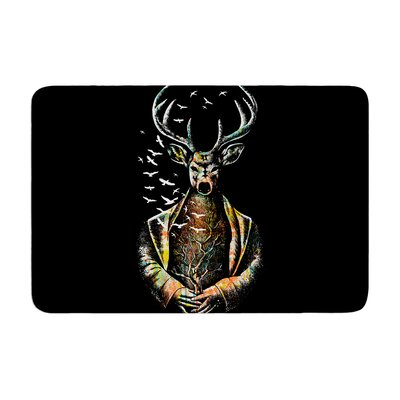 BarmalisiRTB There Is No Place Deer Memory Foam Bath Rug