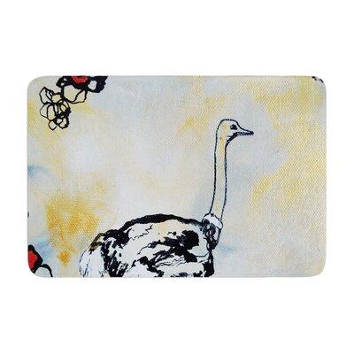 Sonal Nathwani Ostrich Memory Foam Bath Rug