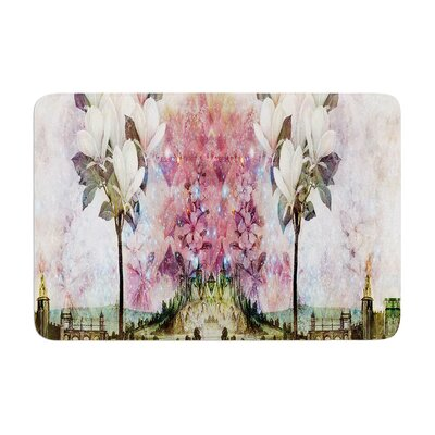 Suzanne Carter the Magnolia Trees Memory Foam Bath Rug