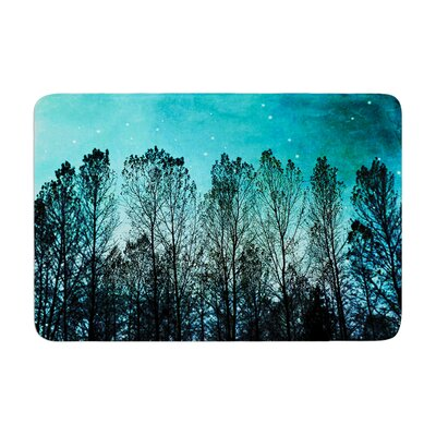 Sylvia Cook Forest Trees Memory Foam Bath Rug
