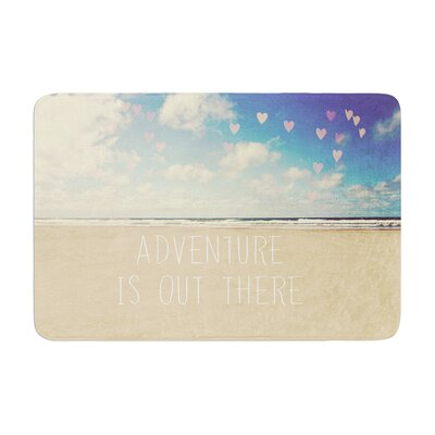 Sylvia Cook Adventure is out There Memory Foam Bath Rug