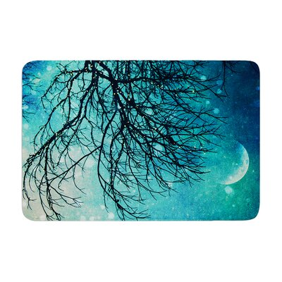 Sylvia Cook Winter Moon Memory Foam Bath Rug