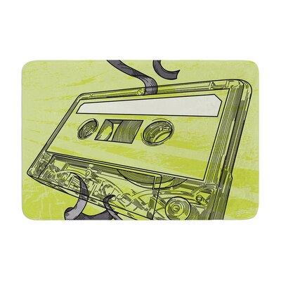 Sam Posnick Mixtape Memory Foam Bath Rug