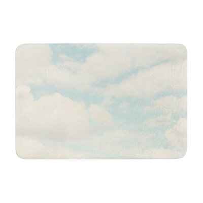 Sylvia Cook Clouds Memory Foam Bath Rug