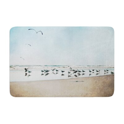 Sylvia Cook Sea Coastal Memory Foam Bath Rug